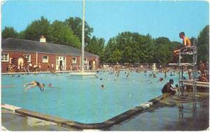 Swimming Pool City Park Parkersburg West Virginia WV