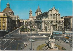 CATANIA, Il Duomo, The Cathedral, 1981 used Postcard