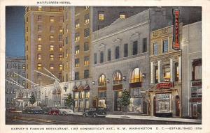 Washington D.C. District of Columbia Postcard Old MAYFLOWER HOTEL Building 12