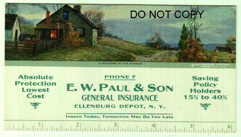 E. W. Paul & Son General Insurance, Ellenburg Depot NY