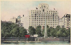 England London Cleopatra's Needle and Shell-Mex Building