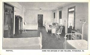 Pittsburgh PA Home For Orphans of Odd Fellows Postcard