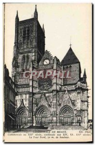 Old Postcard From Meaux Cathedral
