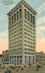 KY - Lexington. The new Fayette National Bank Building