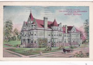 Michigan Detroit Knights Of The Maccabees General Office 1914