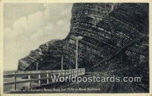 Rochers sur le Boulevard Perron, Cliffs on Perron Boulevard Gaspe, Quebec Can...