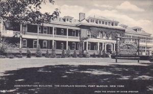 Administration Building The Chaplain School Fort Sloum New York Artvue