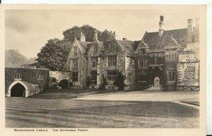 Northamptonshire Postcard - Rockingham Castle - The Entrance Front - Ref 19533A