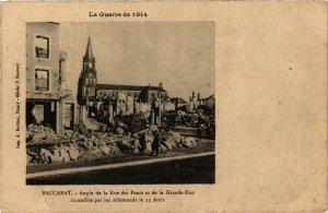CPA Baccarat-Angle de la Rue des Ponts et de la Grande Rue (187968)
