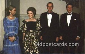 King Juan Carlos, Spain Ronald Regan 40th USA President Postcard Postcards  K...