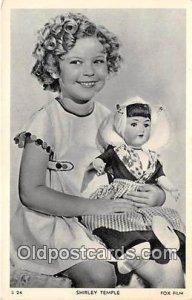 Shirley Temple Postcard S 24 unused