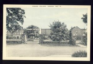 Goshen, Indiana/IN Postcard, Goshen College