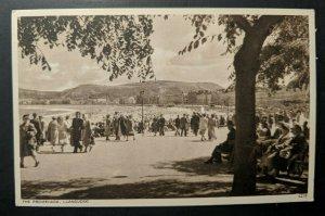 Mint Vintage Llandudno Wales The Promenade North Shore Real Picture Postcard