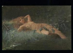 134720 Nude MERMAID Wassernixe NYMPH by GOROKHOV Vintage PC