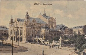 KOELN, North Rine-Westphalia, Germany; Operahaus, PU-1908