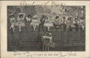 New York City Academy of Music Theatre Play Babes in Toyland Postcard #1