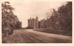 DUNSTER SOMERSET UKTHE CASTLE~F ELLIS PUBLISHED PHOTO POSTCARD
