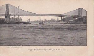 New York City The Williamsburg Bridge
