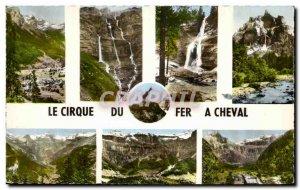 Old Postcard Cirque Du Fer A Cheval Sixt has Chamois Restaurant