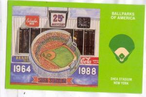 Baseball, Ballparks of America, Shea Stadium, New York, 40-60s