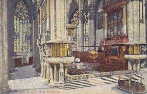 Italy Milano Il Coro della Cattedrale
