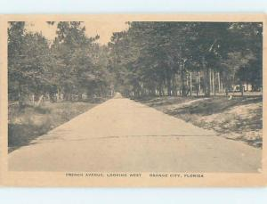 1920's STREET SCENE Orange City By Deltona & Orlando & Daytona Beach FL W1685@