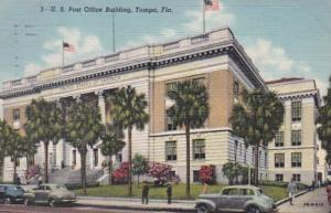 Florida Tampa Post Office Building 1949 Curtich