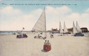 Florida Daytona Beach Sand Sailing On The World's Most Famous Beach