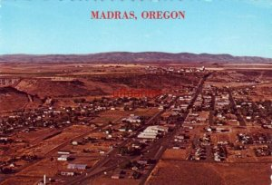 MADRAS, ONE OF THE VERY BUSY CITIES OF CENTRAL OREGON