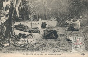 Morocco La France au Maroc La veillée des morts 03.36