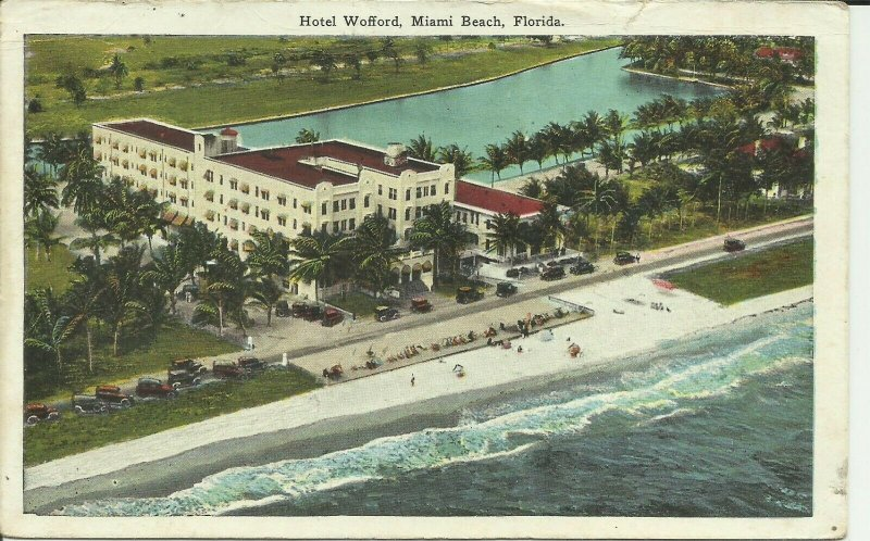 Miami Beach, Florida, Hotel Wofford
