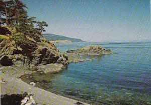 Canada British Columbia South Pender Island Gowlland Point