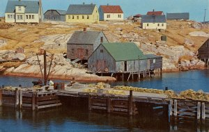 Canada - Nova Scotia, Peggy's Cove