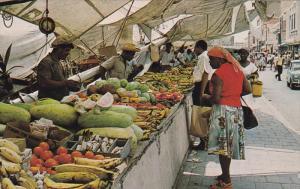 CURACAO, 1940-1960´s; Famous Schooner Market