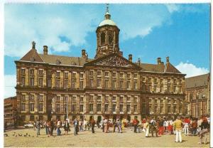 Amsterdam, Royal Palace at the Dam, unused Postcard