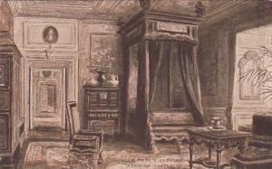 England Warwick Queen Anne's Bedroom