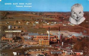Advertising Old Vintage Antique Post Card Gerber Baby Food 1957