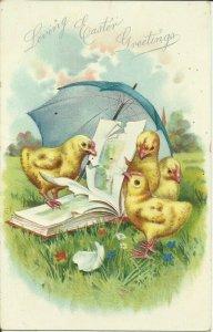 Loving Easter Greetings,  TUCK     EMBOSSED