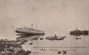 RP: SENTINEL Island , Alaska , 00-10s ; PRINCESS MAY Shipwreck #4