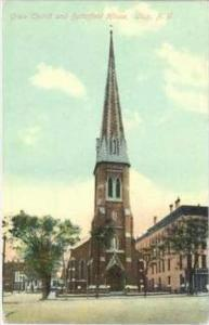 Grace Church & Butterfield house , Utica , New York, 1910