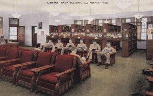 CAMP ELLIOTT, California, 1930-1940's; Library