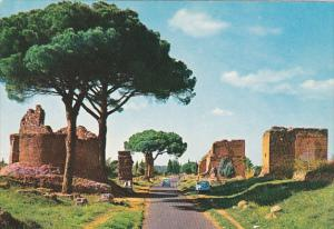 Italy Roma Rome Via Appia Antica