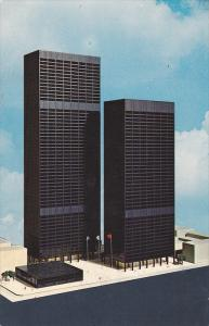 Future View of The TORONTO-Dominion Centre , Ontario , Canada , 40-60s