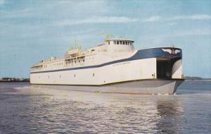 Ferry Boat Old Point Comfort , North & South Kiptopeke Beach , Virginia , 5...