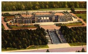 Ohio Cincinati Aerial view of Auit Park