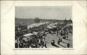 Danbury CT General View c1905 Fair Postcard
