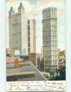 Pre-1907 ST. PAUL BUILDING New York City NY A0719