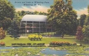 West Virginia Wheeling Aviary And Lake At Wheeling Park