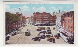 P281 JL old postcard beverly mass washington street west