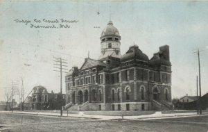 FREMONT , Nebraska, 1909 ; Court House